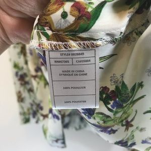 BB Dakota Dresses - BB Dakota Betty Draper Floral Silk Dress - #1122